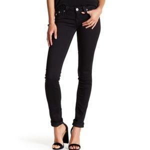 NWT True religion black skinny jeans